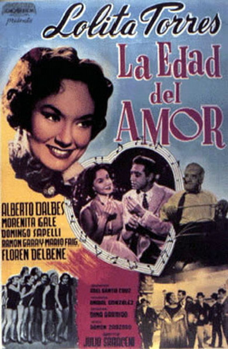 La Edad del amor movie poster