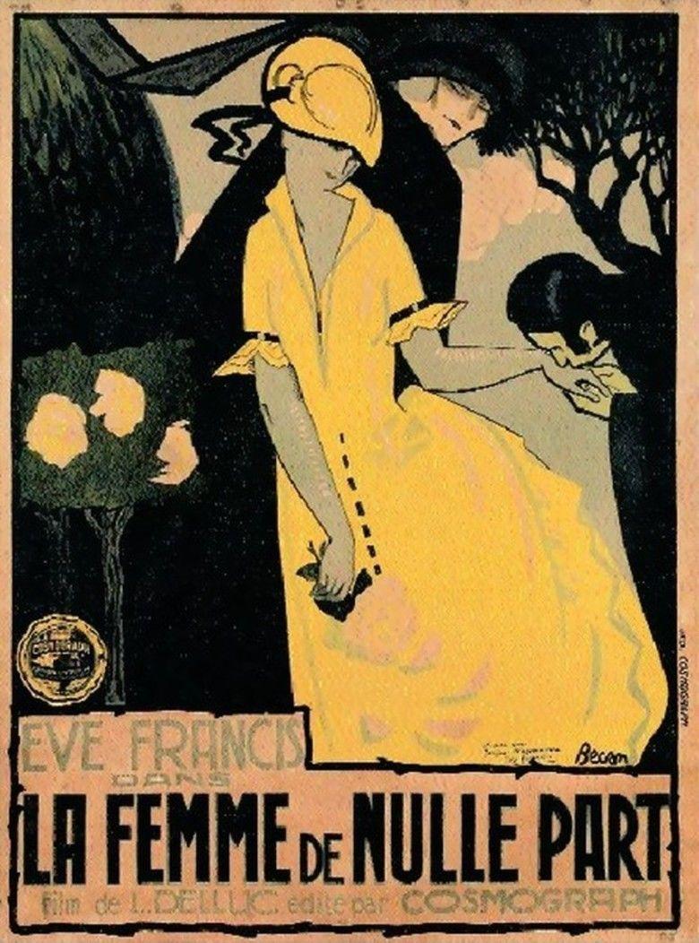 La Femme de nulle part movie poster