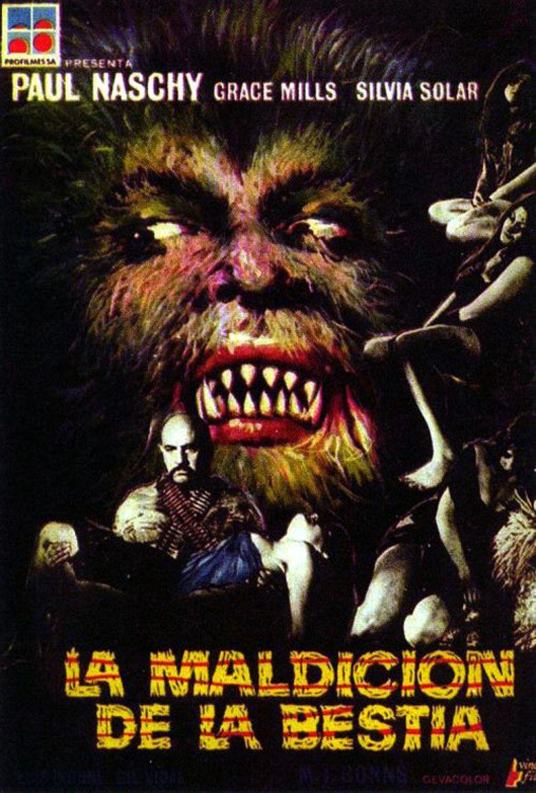 La Maldicion de la Bestia movie poster