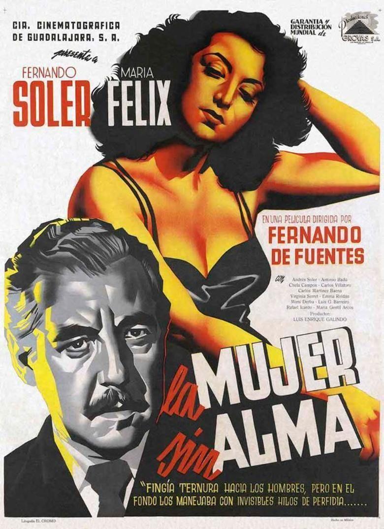 La Mujer sin Alma movie poster