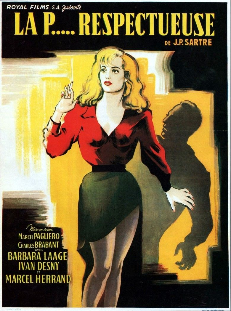 La Putain respectueuse movie poster