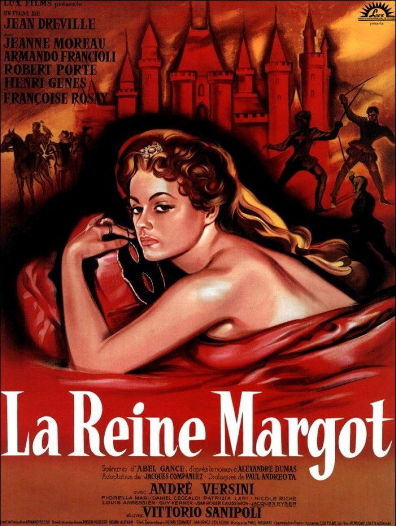 La Reine Margot (1954 film) movie poster