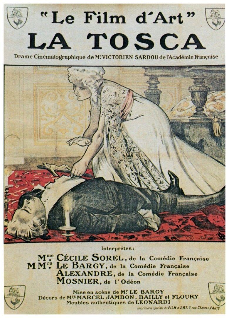 La Tosca (1909 film) movie poster