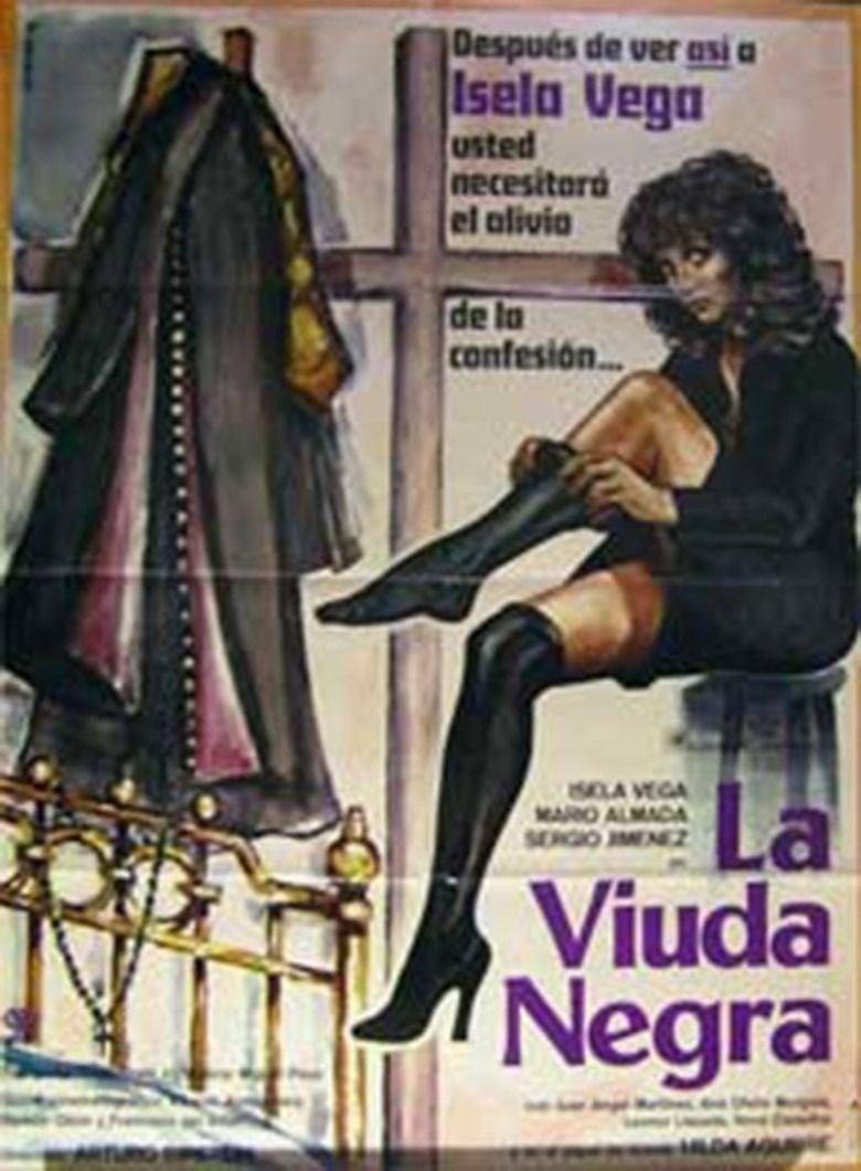 La Viuda Negra (1977 film) movie poster