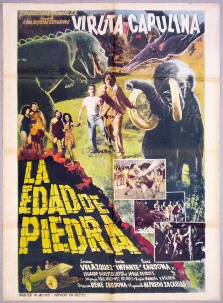 La edad de piedra movie poster