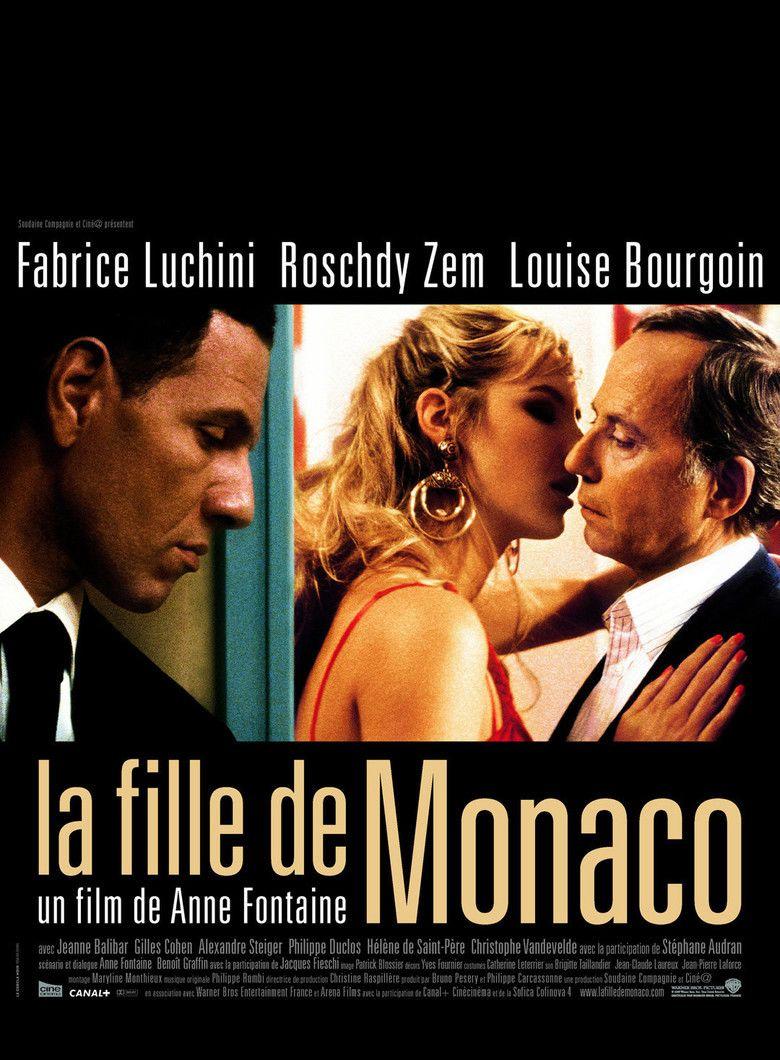 La fille de Monaco movie poster