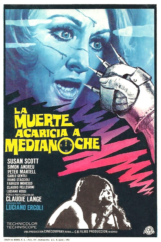 La morte accarezza a mezzanotte movie poster