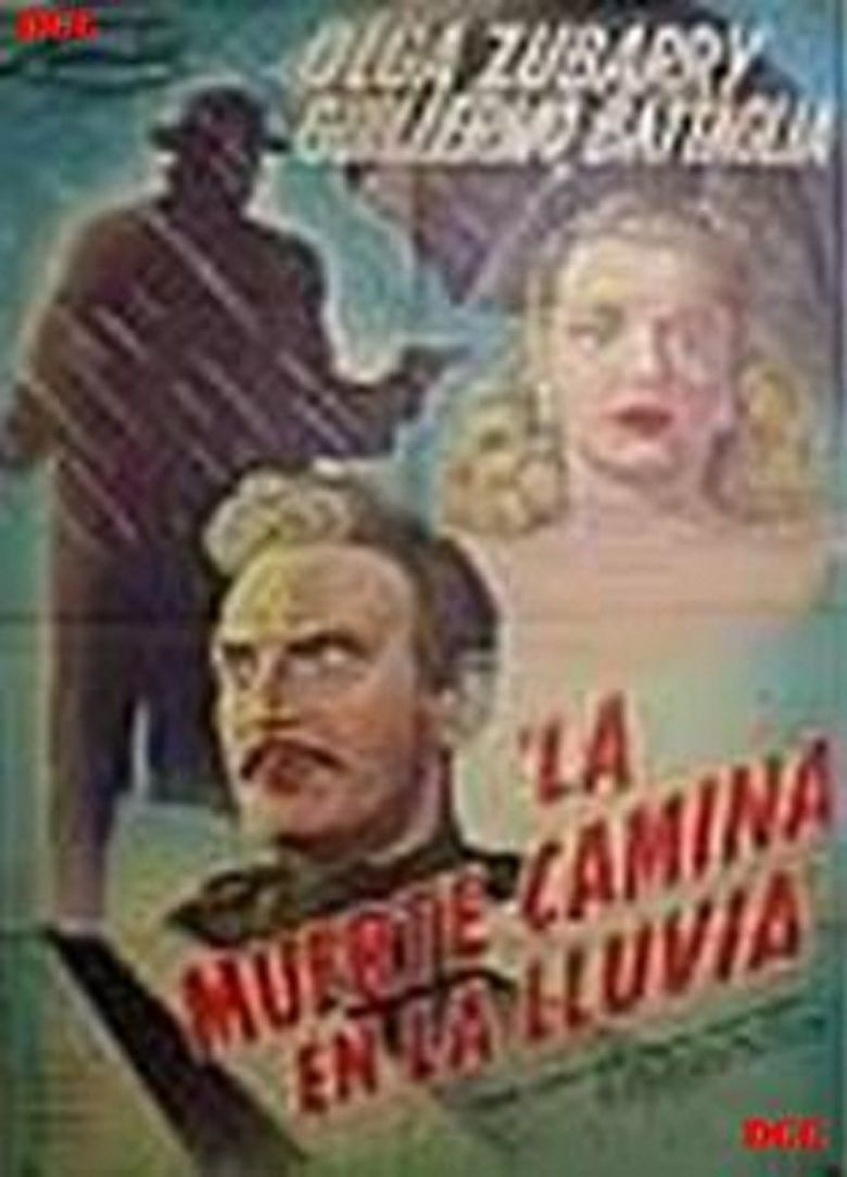 La muerte camina en la lluvia movie poster