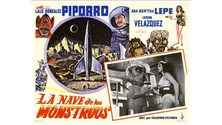 La nave de los monstruos movie scenes