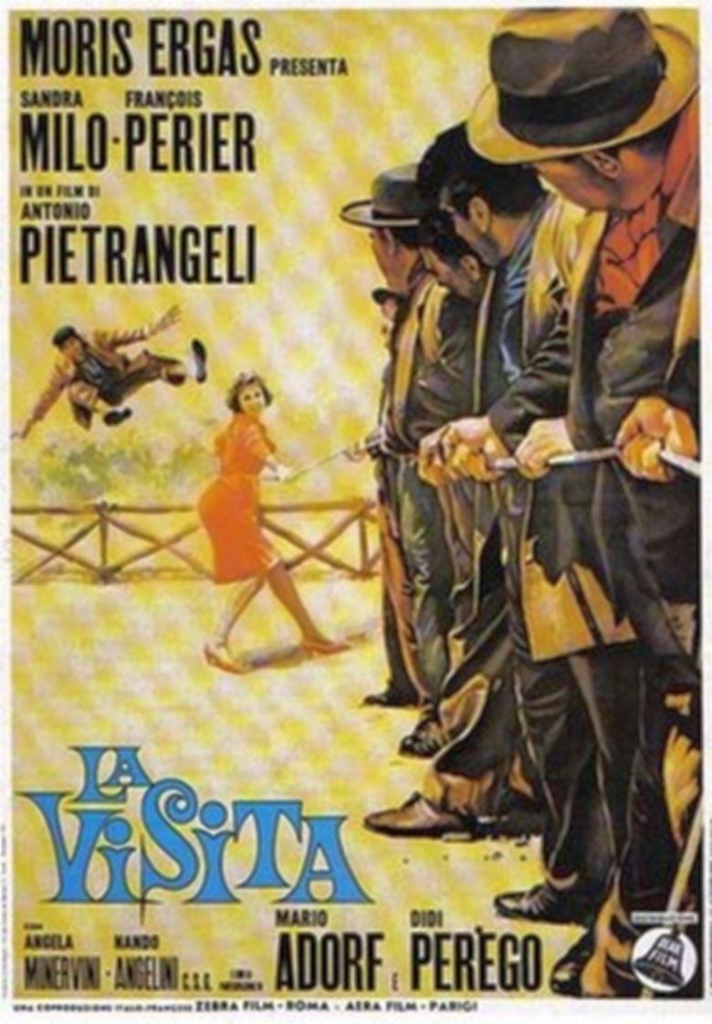 La visita movie poster