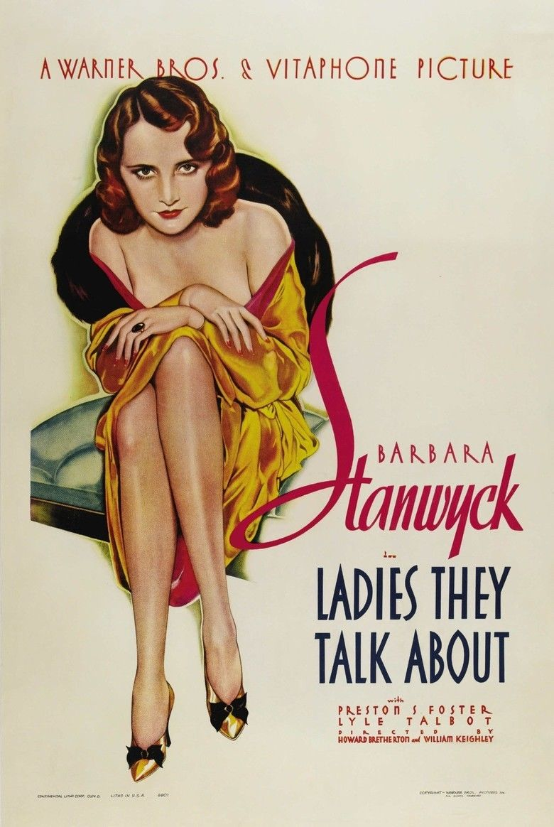 Ladies They Talk About movie poster