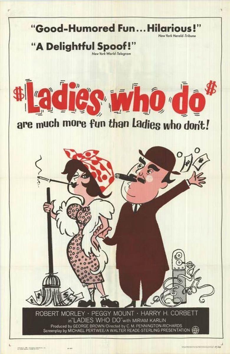Ladies Who Do movie poster