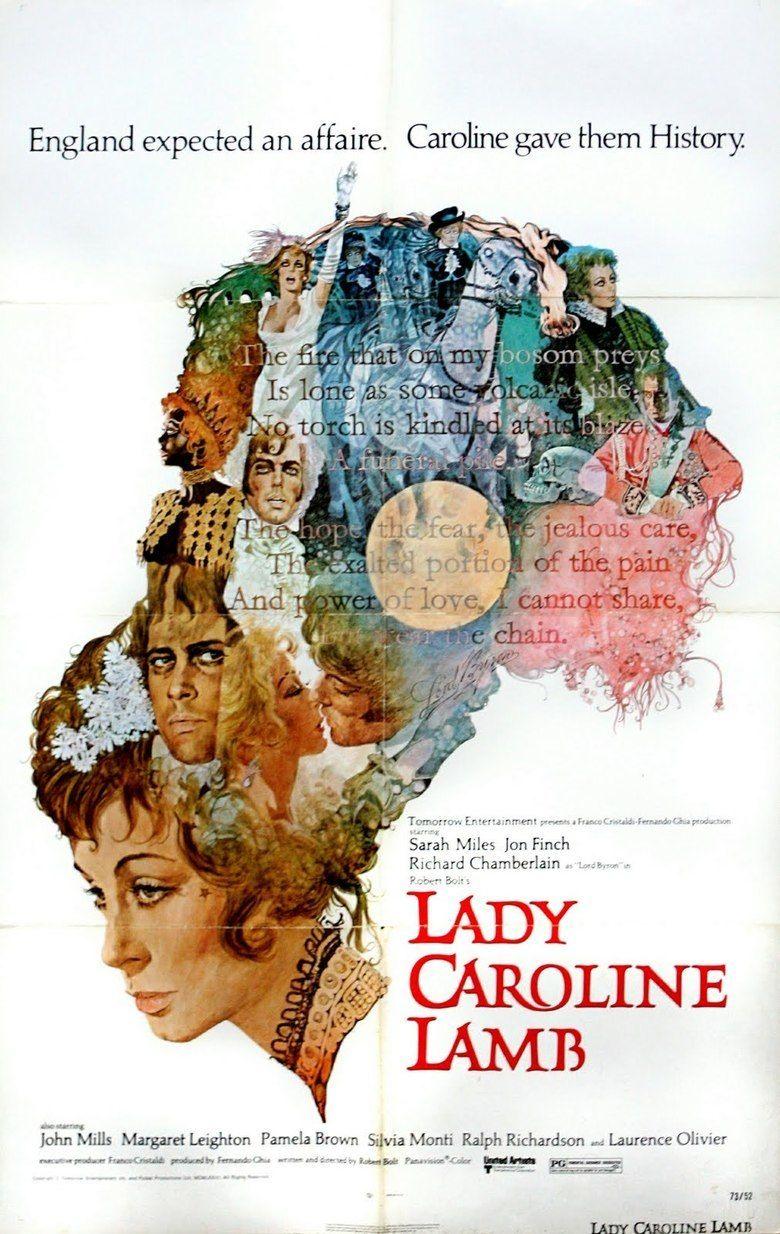 Lady Caroline Lamb (film) movie poster
