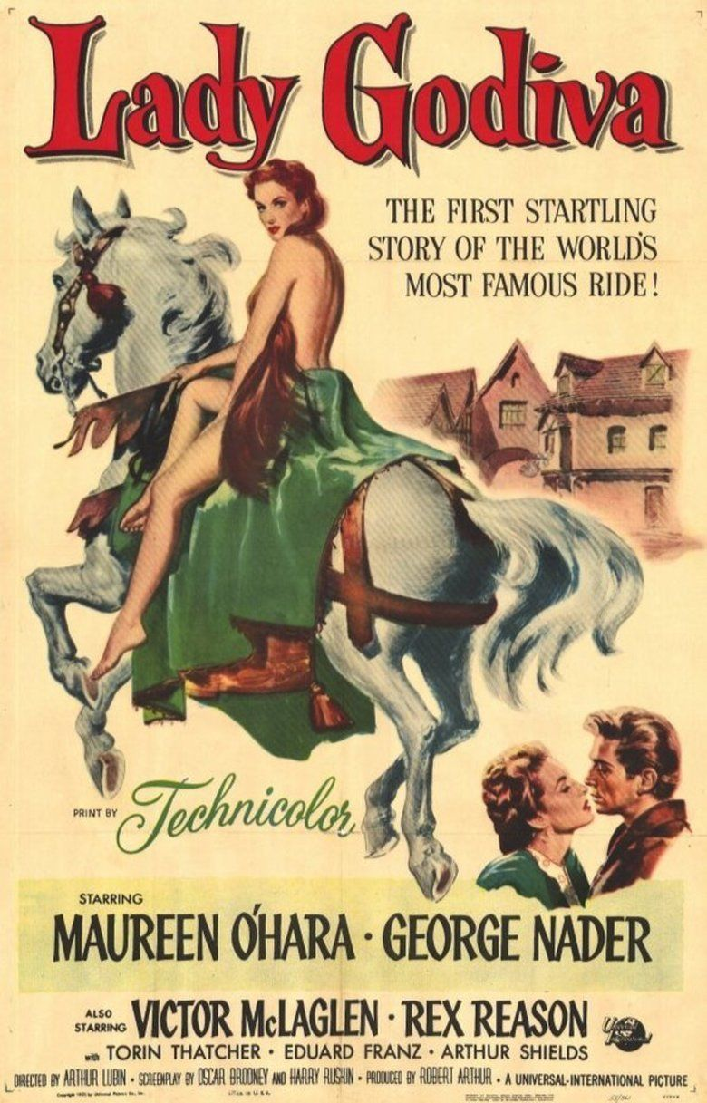 Lady Godiva of Coventry movie poster