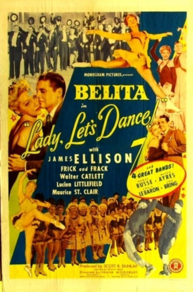Lady, Lets Dance movie poster