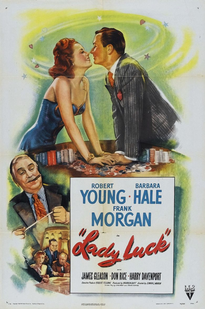 Lady Luck (1946 film) movie poster