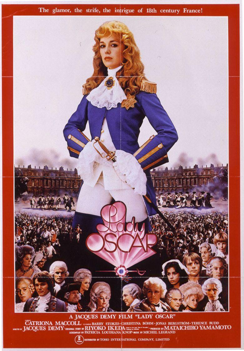 Lady Oscar (film) movie poster