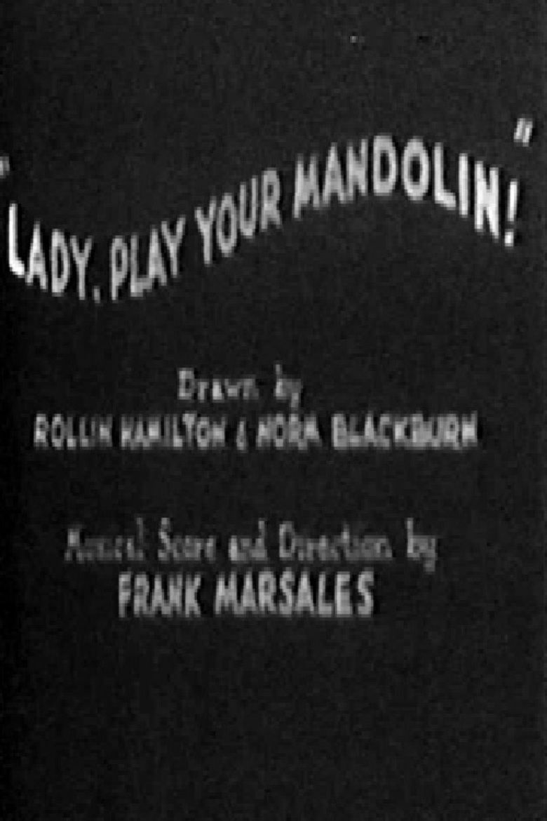 Lady, Play Your Mandolin! movie poster