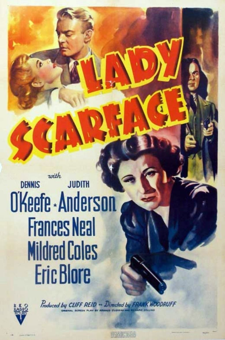 Lady Scarface movie poster