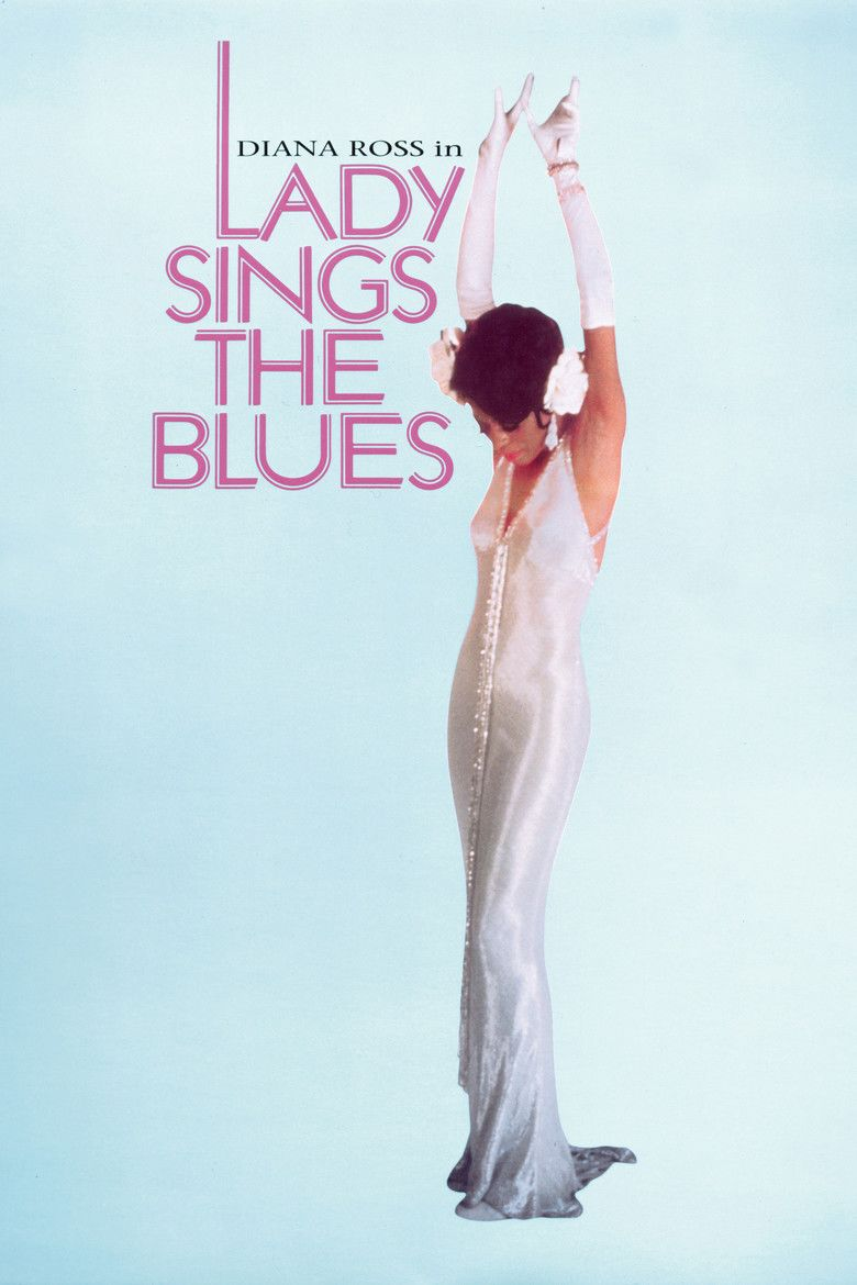 Lady Sings the Blues (film) movie poster