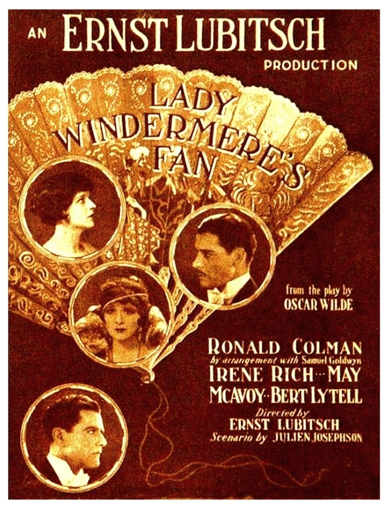 Lady Windermeres Fan movie poster