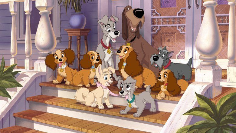 Lady and the Tramp II: Scamps Adventure movie scenes