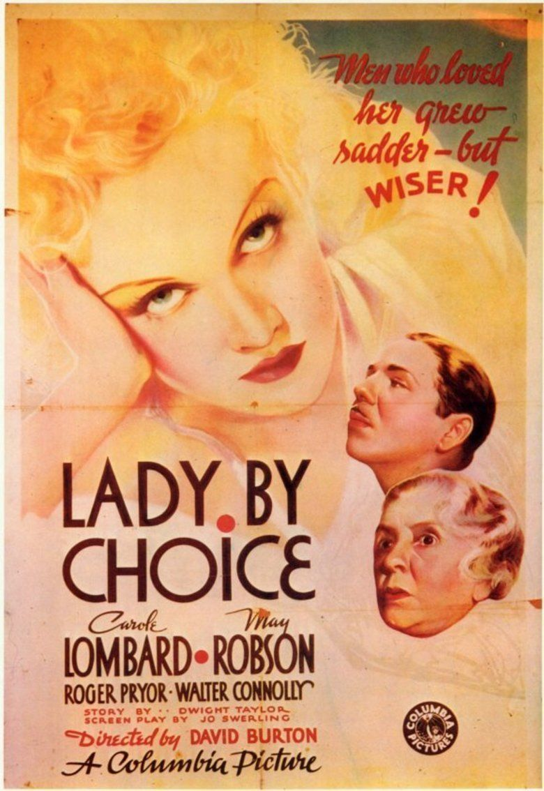 Lady by Choice movie poster