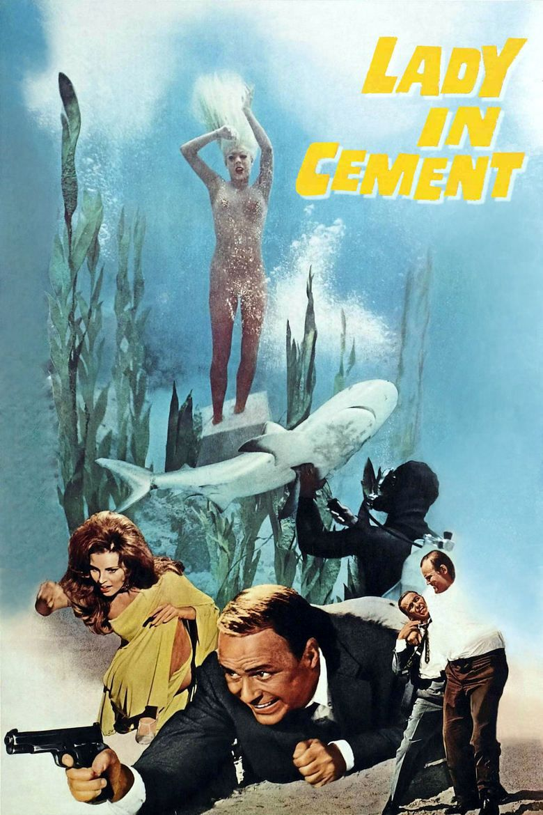 Lady in Cement movie poster