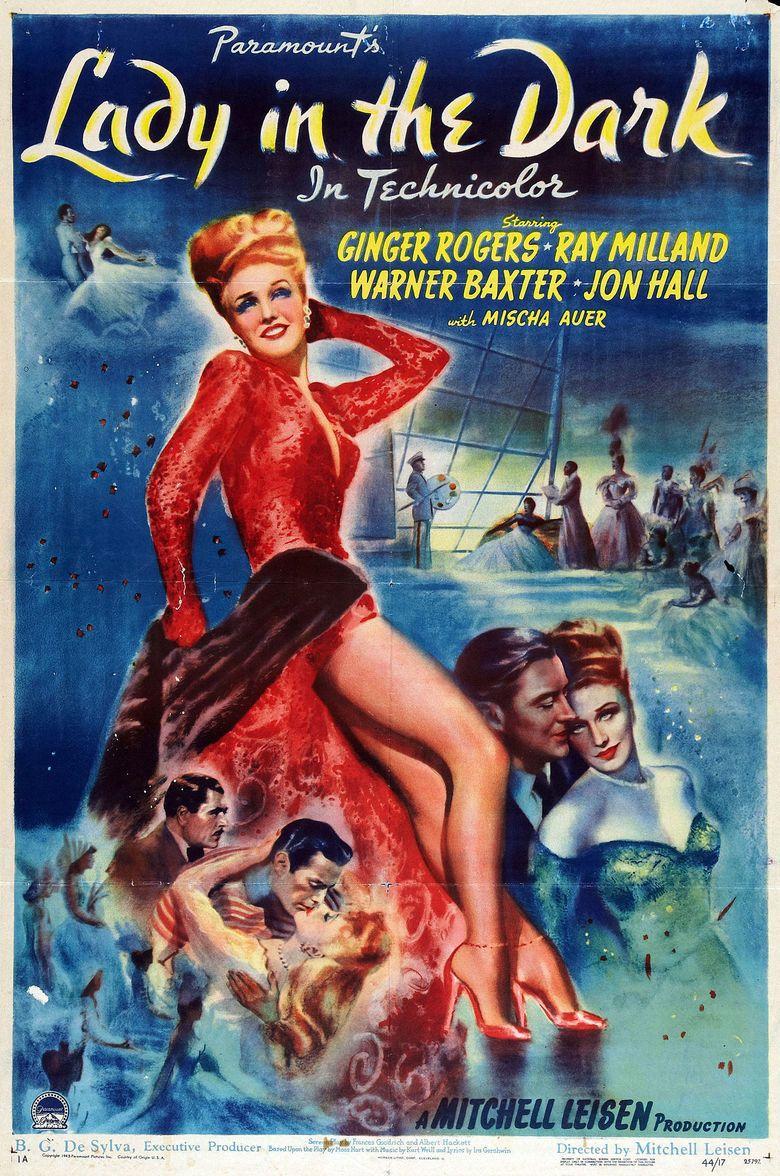Lady in the Dark (film) movie poster