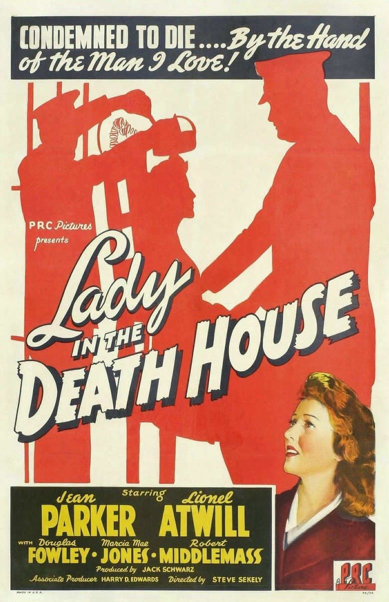 Lady in the Death House movie poster