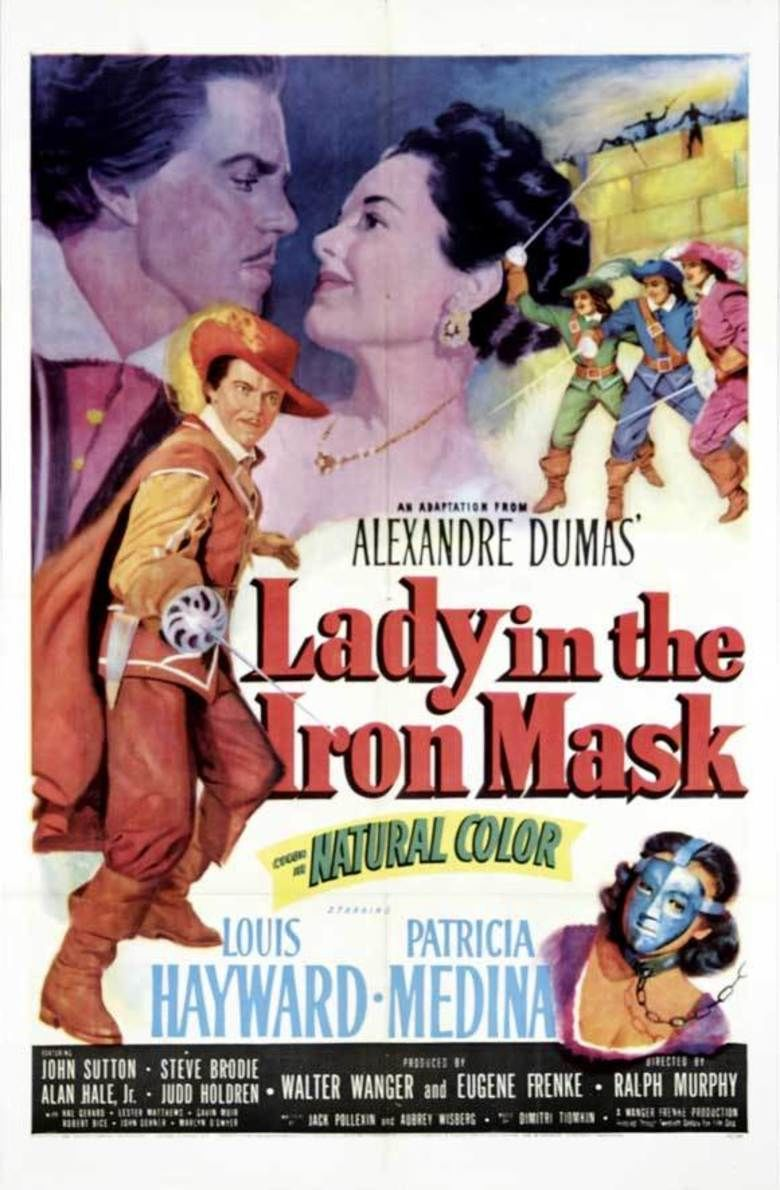 Lady in the Iron Mask movie poster