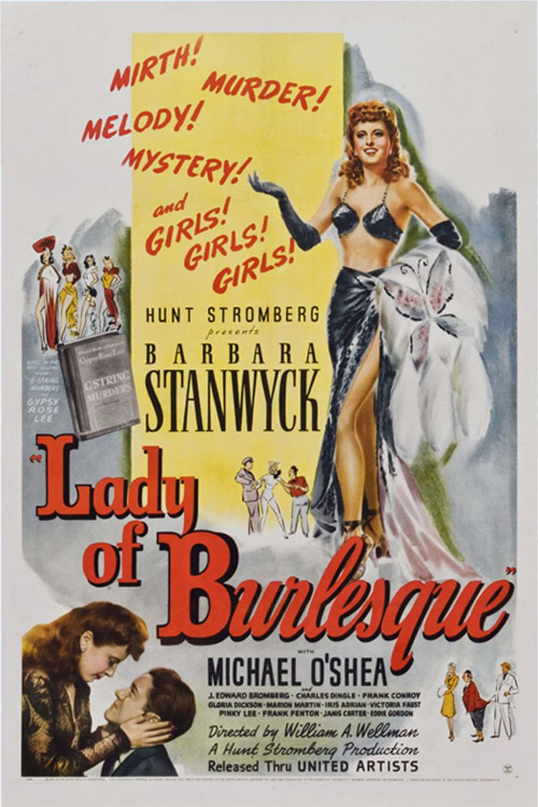 Lady of Burlesque movie poster