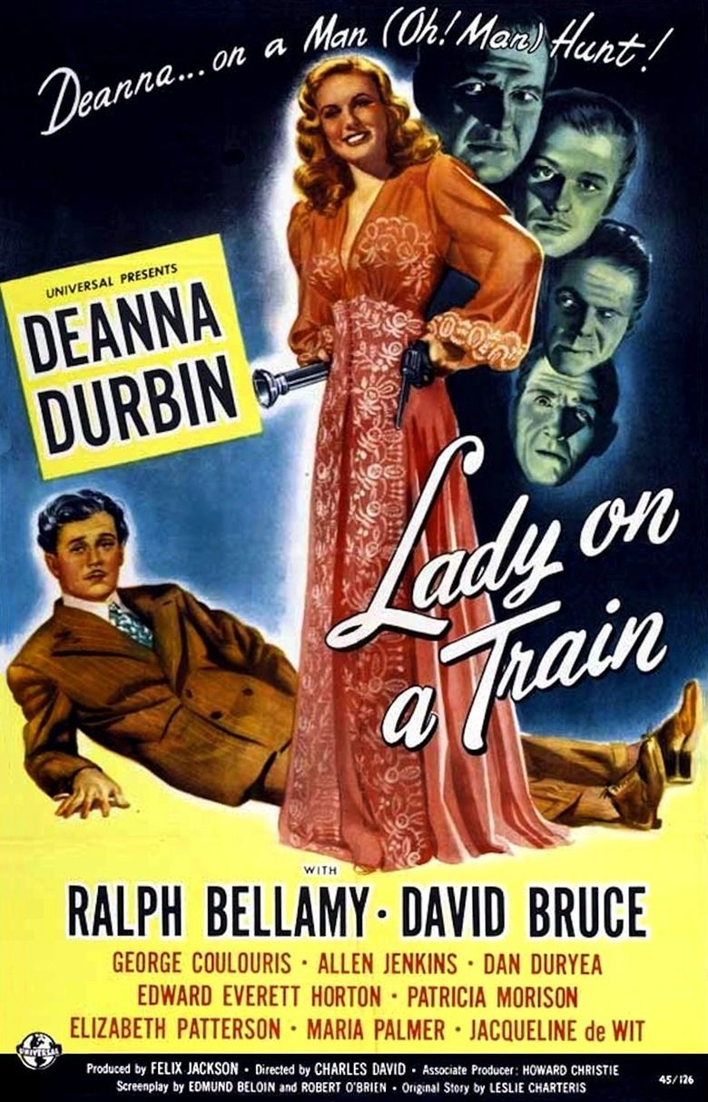 Lady on a Train movie poster