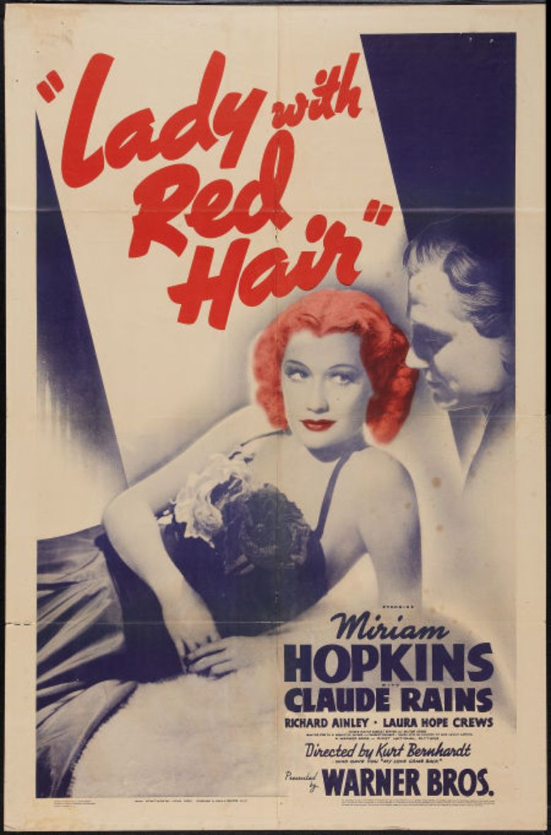 Lady with Red Hair movie poster