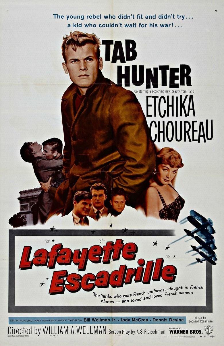 Lafayette Escadrille (film) movie poster