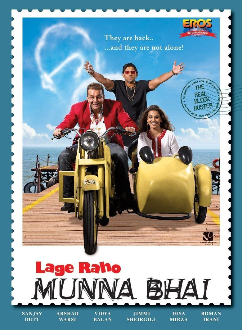 Lage Raho Munna Bhai 2006 Hindi 1080p BluRay x264 DTS-HDMA – Hon3y | G- Drive | 12 GB |