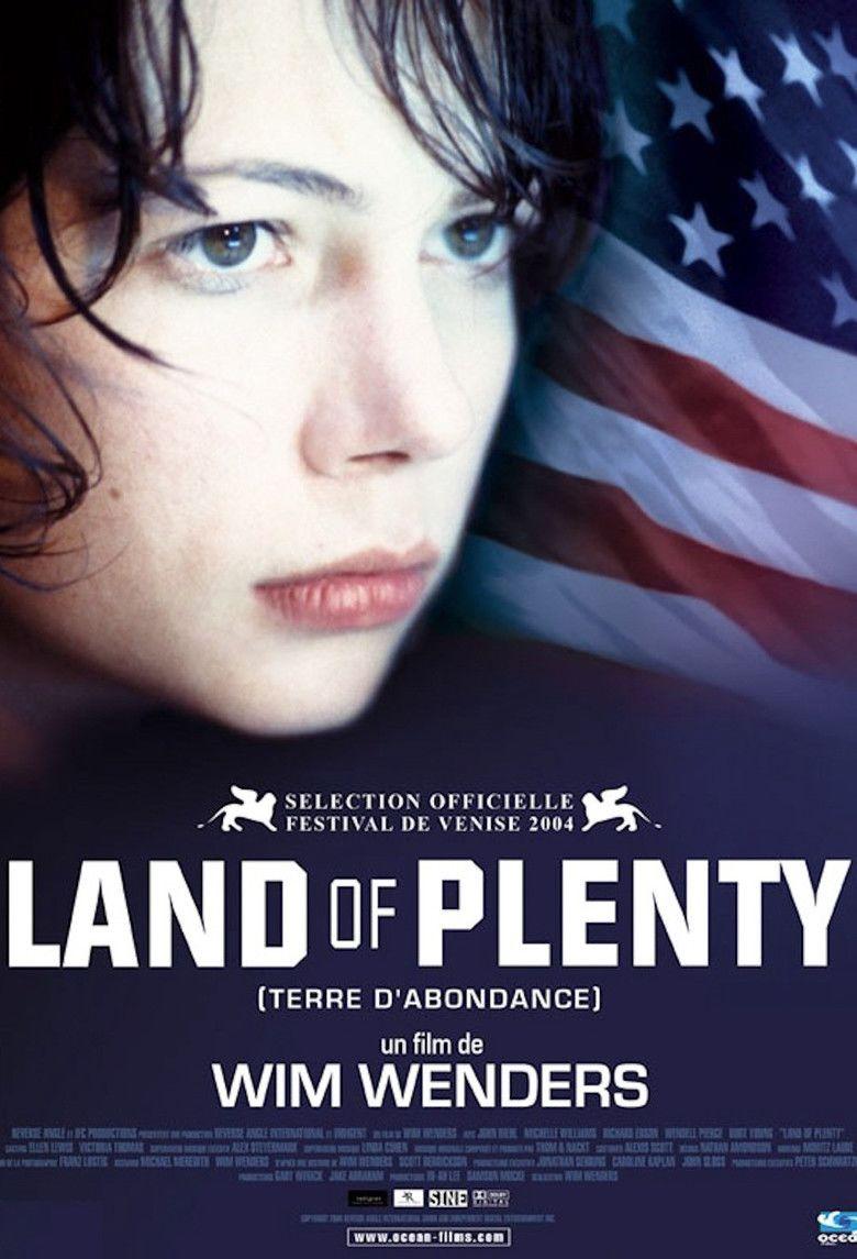 Land of Plenty movie poster