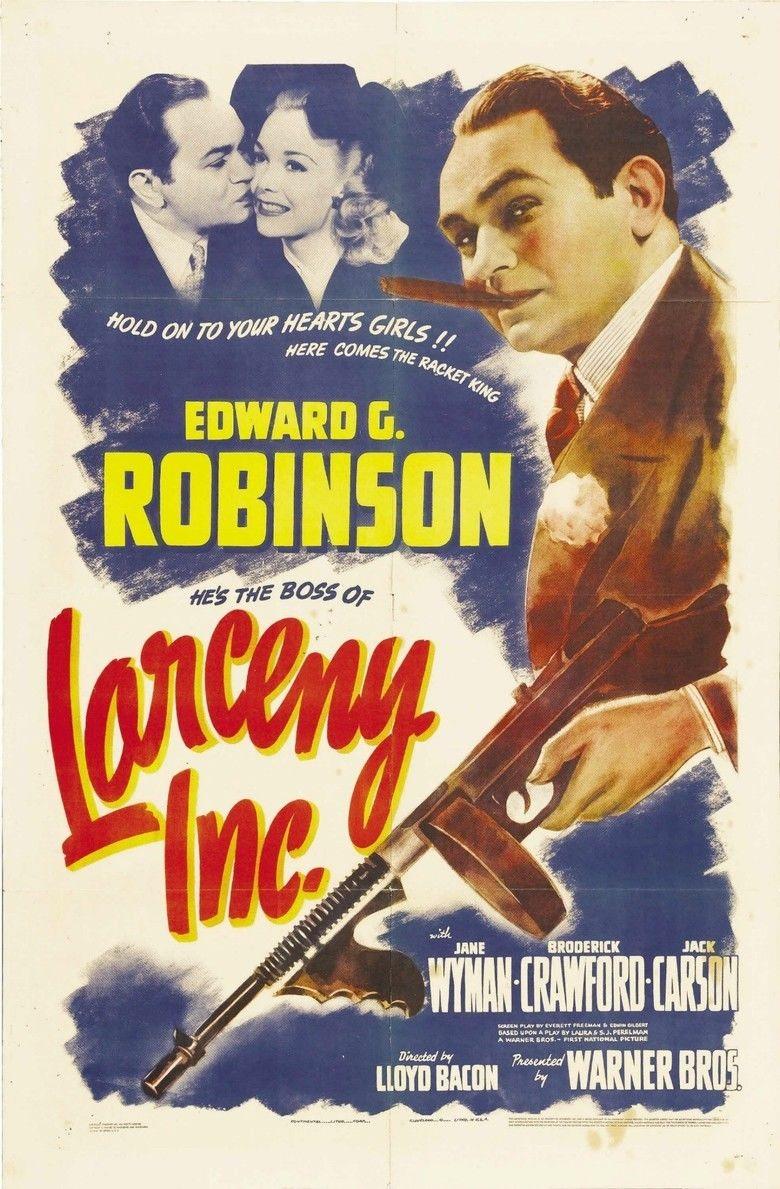 Larceny, Inc movie poster