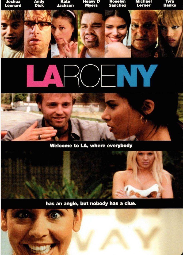 Larceny (film) movie poster