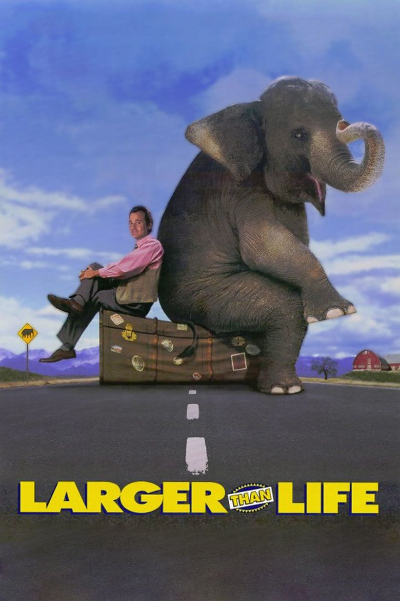 Larger than Life (film) movie poster