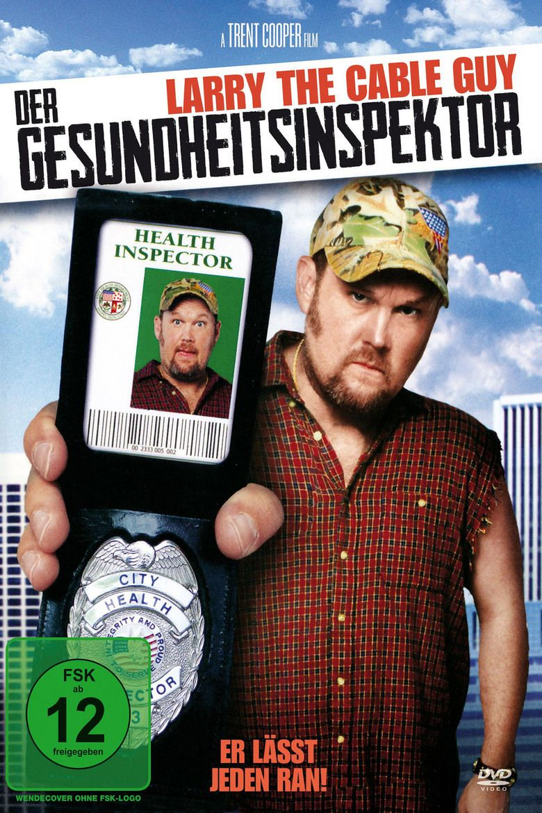 Larry the Cable Guy: Health Inspector movie poster