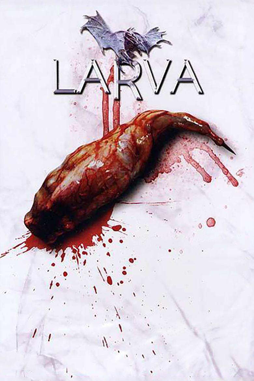 Larva (film) movie poster