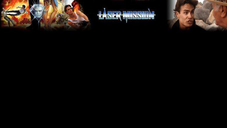 Laser Mission movie scenes
