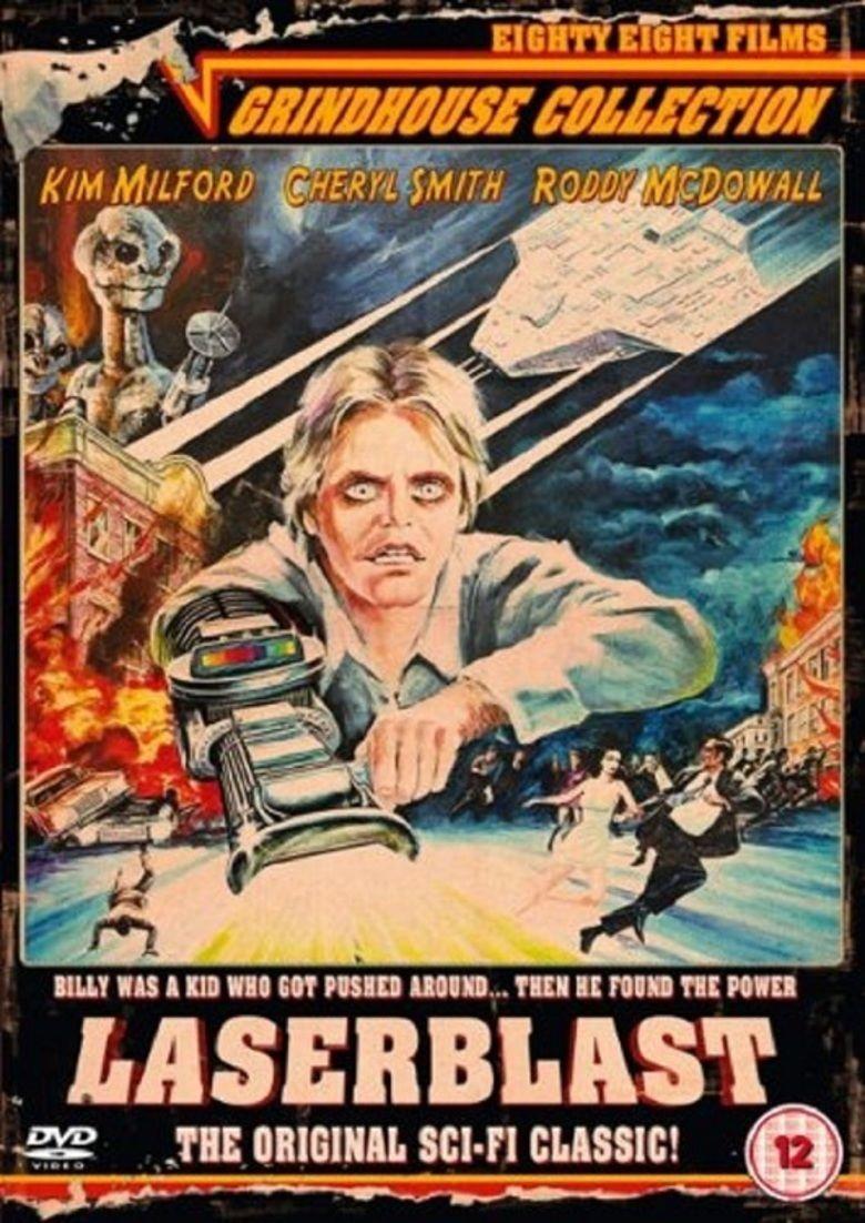 Laserblast movie poster