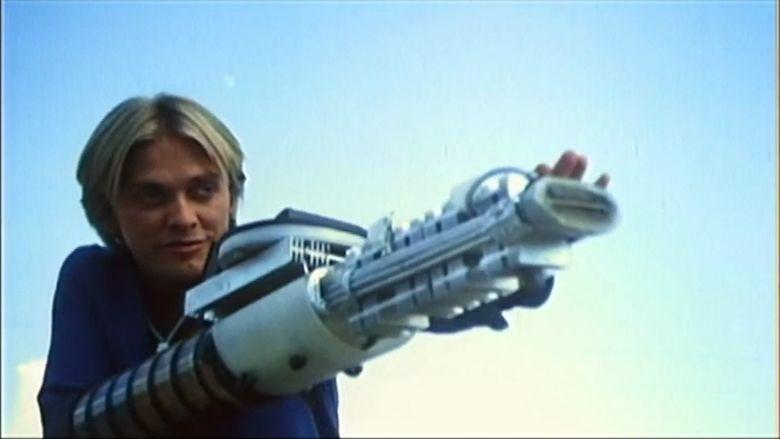 Laserblast movie scenes