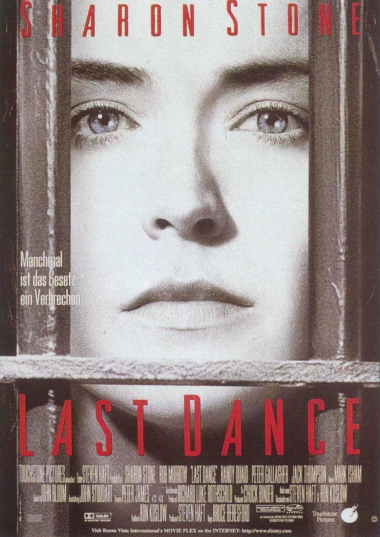 Last Dance (1996 film) movie poster