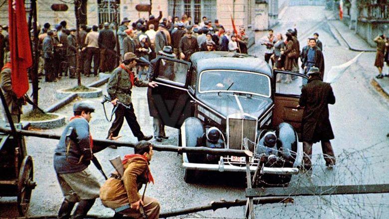 Last Days of Mussolini movie scenes