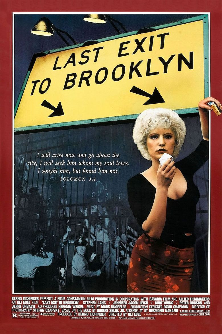 Last Exit to Brooklyn (film) movie poster