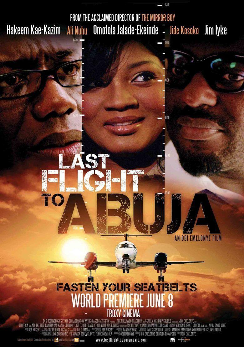 Last Flight to Abuja movie poster