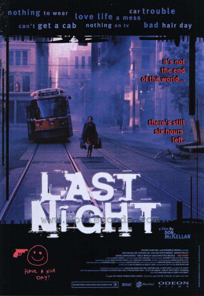 Last Night (1998 film) movie poster